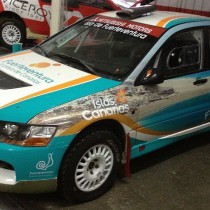 coche patrocinado